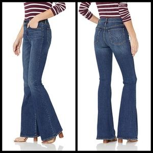 💕HUDSON💕 Holly High Rise Flare Jean Vagabond 70s